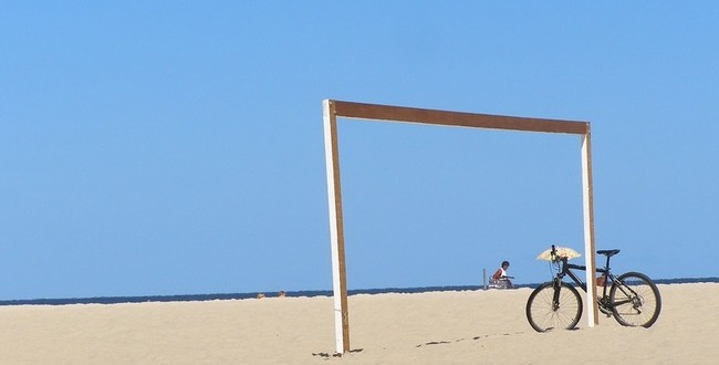 夏 クロスバイク